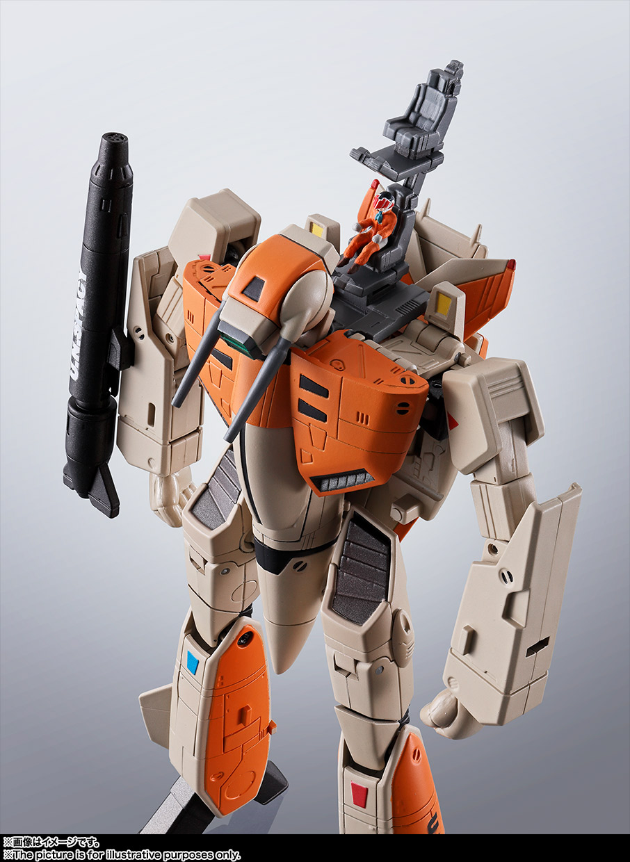 HI-METAL R『VF-1D バルキリー』超時空要塞マクロス 可変可動フィギュア-002