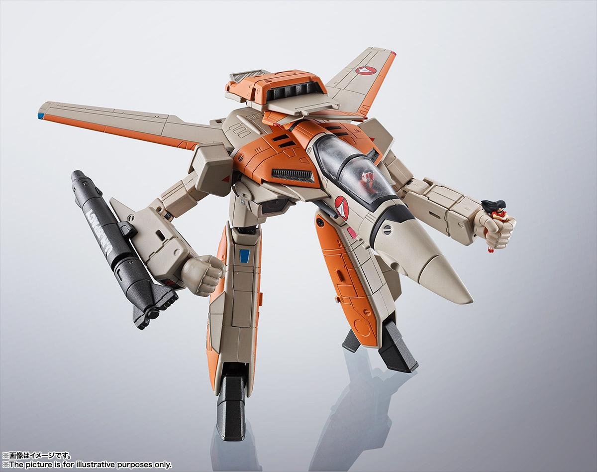 HI-METAL R『VF-1D バルキリー』超時空要塞マクロス 可変可動フィギュア-003