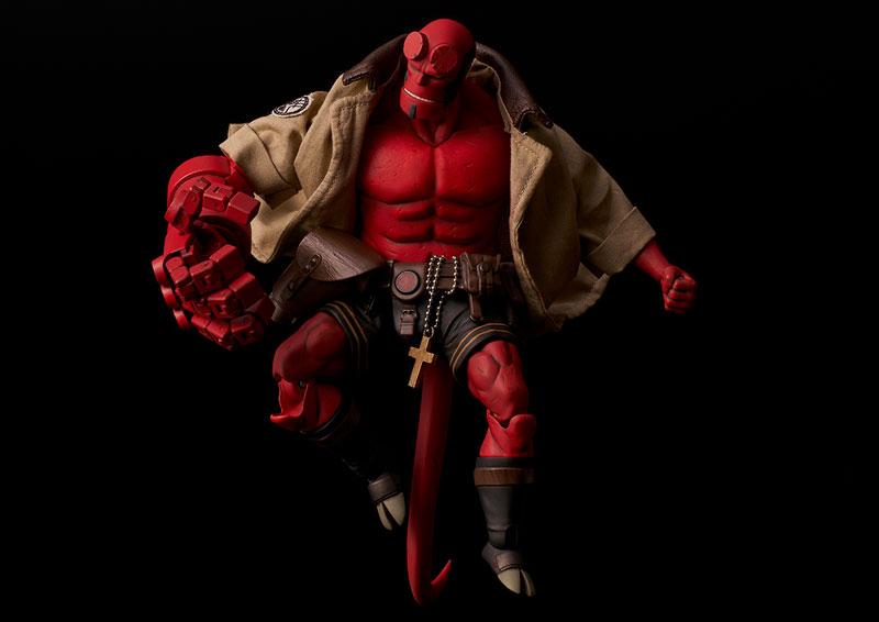 Hellboy『ヘルボーイ』1/12 可動フィギュア-007