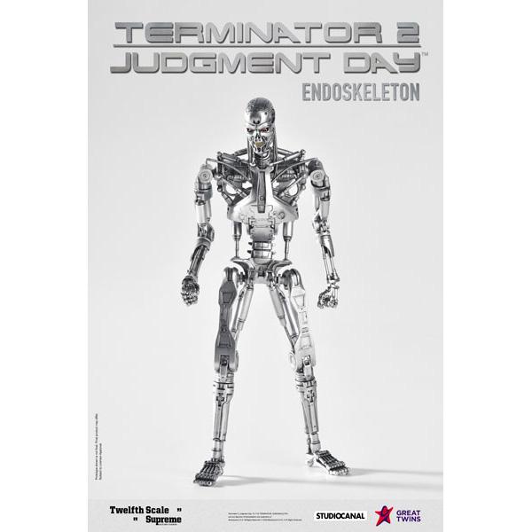 ターミネーター2/T2『T-800 エンドスケルトン』1/12 シュプリーム アクションフィギュア