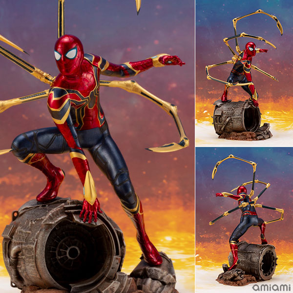 ARTFX+ Avengers:Infinity War『 アイアン・スパイダー -INFINITY WAR-』1/10 アベンジャーズ 簡易組立キット