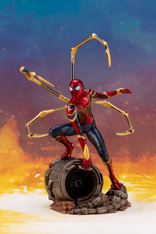 ARTFX+ Avengers:Infinity War『 アイアン・スパイダー -INFINITY WAR-』1/10 アベンジャーズ 簡易組立キット-001