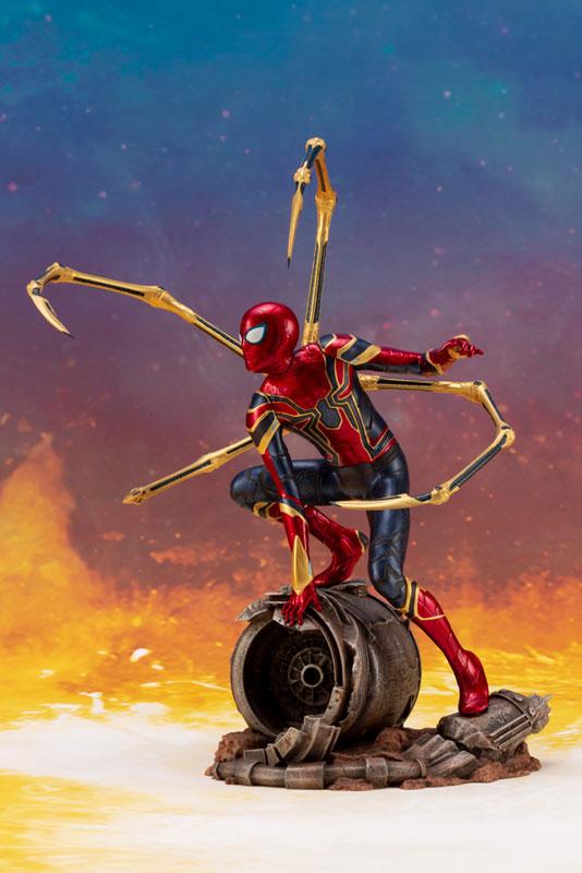 ARTFX+ Avengers:Infinity War『 アイアン・スパイダー -INFINITY WAR-』1/10 アベンジャーズ 簡易組立キット-002