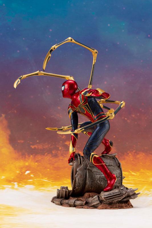ARTFX+ Avengers:Infinity War『 アイアン・スパイダー -INFINITY WAR-』1/10 アベンジャーズ 簡易組立キット-003