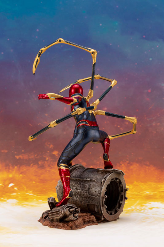 ARTFX+ Avengers:Infinity War『 アイアン・スパイダー -INFINITY WAR-』1/10 アベンジャーズ 簡易組立キット-004