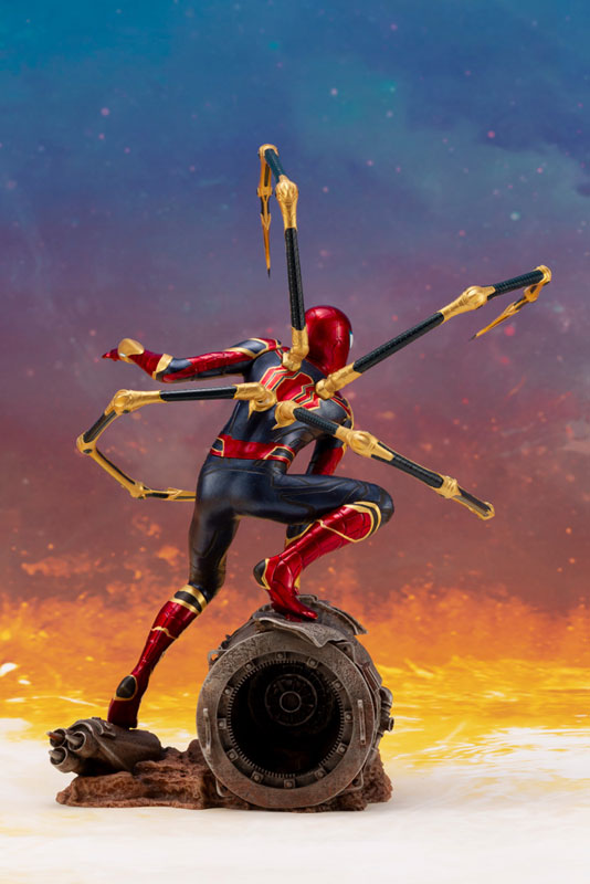 ARTFX+ Avengers:Infinity War『 アイアン・スパイダー -INFINITY WAR-』1/10 アベンジャーズ 簡易組立キット-005