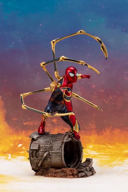 ARTFX+ Avengers:Infinity War『 アイアン・スパイダー -INFINITY WAR-』1/10 アベンジャーズ 簡易組立キット-006