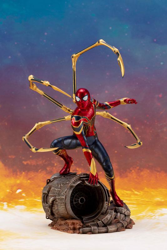 ARTFX+ Avengers:Infinity War『 アイアン・スパイダー -INFINITY WAR-』1/10 アベンジャーズ 簡易組立キット-007