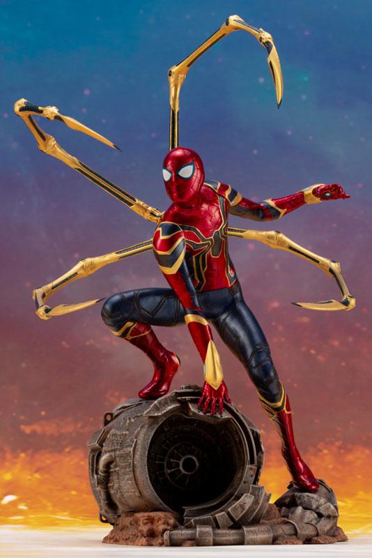 ARTFX+ Avengers:Infinity War『 アイアン・スパイダー -INFINITY WAR-』1/10 アベンジャーズ 簡易組立キット-008