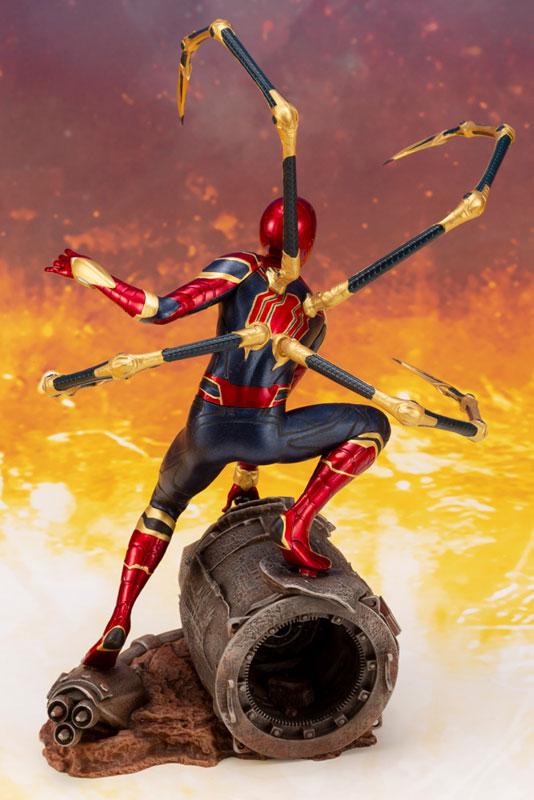 ARTFX+ Avengers:Infinity War『 アイアン・スパイダー -INFINITY WAR-』1/10 アベンジャーズ 簡易組立キット-009