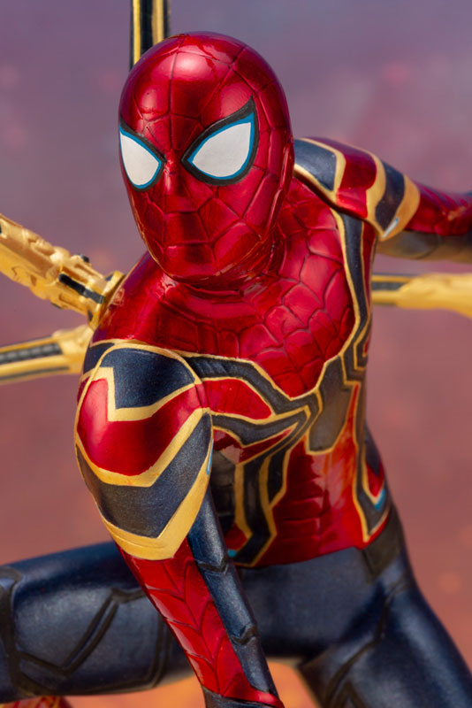 ARTFX+ Avengers:Infinity War『 アイアン・スパイダー -INFINITY WAR-』1/10 アベンジャーズ 簡易組立キット-010