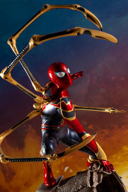 ARTFX+ Avengers:Infinity War『 アイアン・スパイダー -INFINITY WAR-』1/10 アベンジャーズ 簡易組立キット-011