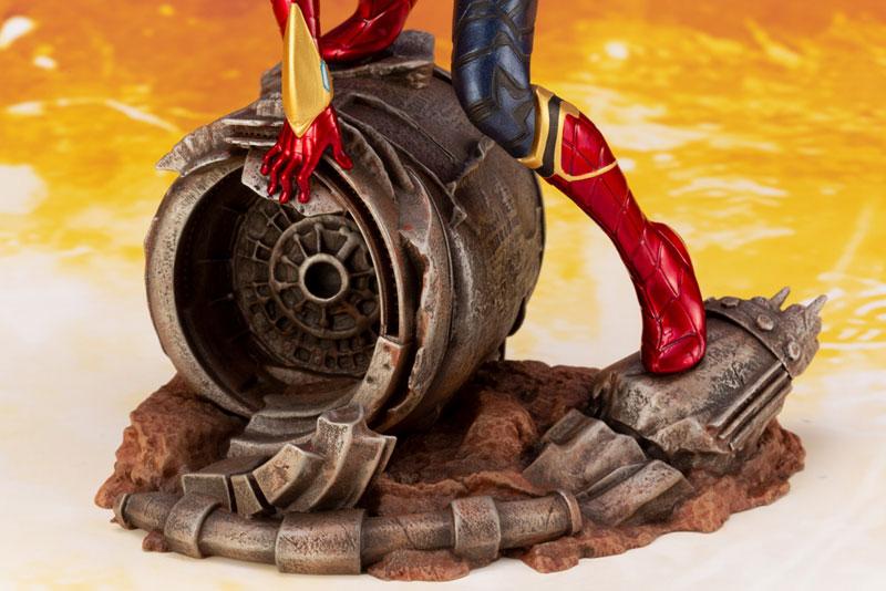 ARTFX+ Avengers:Infinity War『 アイアン・スパイダー -INFINITY WAR-』1/10 アベンジャーズ 簡易組立キット-012