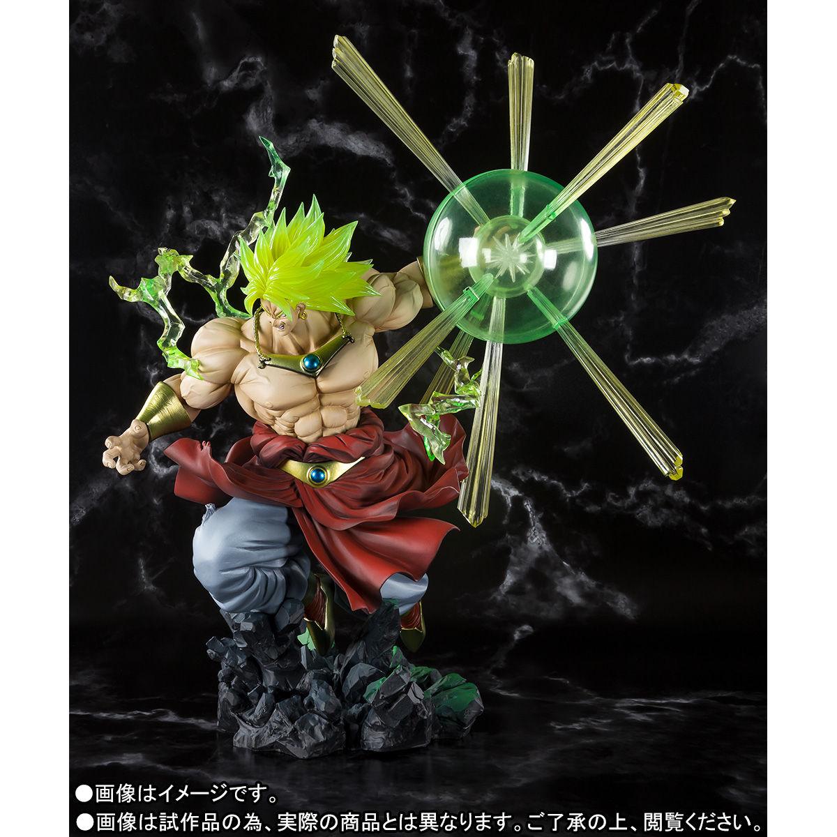 フィギュアーツZERO『スーパーサイヤ人ブロリー -熱戦-』ドラゴンボールZ 完成品フィギュア-004