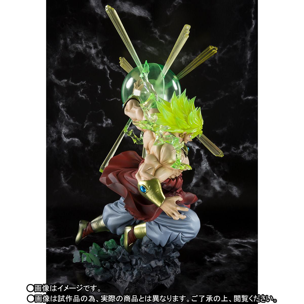 フィギュアーツZERO『スーパーサイヤ人ブロリー -熱戦-』ドラゴンボールZ 完成品フィギュア-005