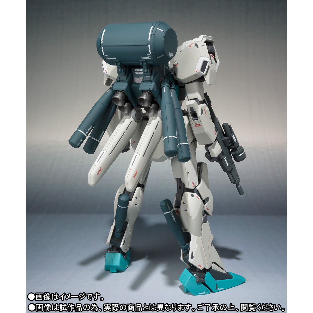 ROBOT魂(Ka signature)〈SIDE MS〉『ネロ(月面降下仕様)マーキングプラスVer.』ガンダム・センチネル 可動フィギュア-005