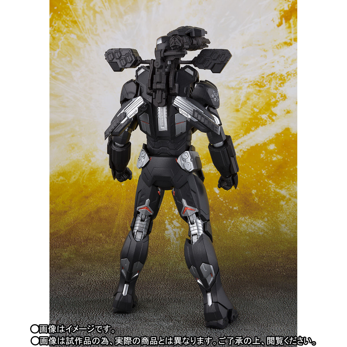 S.H.フィギュアーツ『ウォーマシン マーク4』アベンジャーズ/インフィニティ・ウォー 可動フィギュア-006