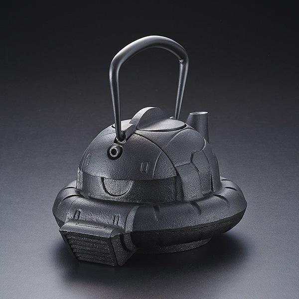 ガンダムカフェ『南部鉄器 鉄瓶 ZAKU』