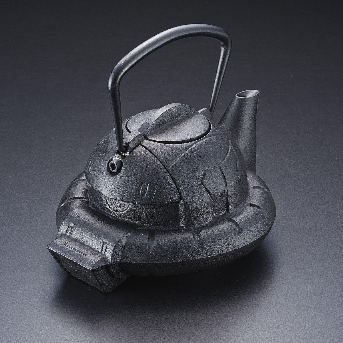 ガンダムカフェ『南部鉄器 鉄瓶 ZAKU』-002