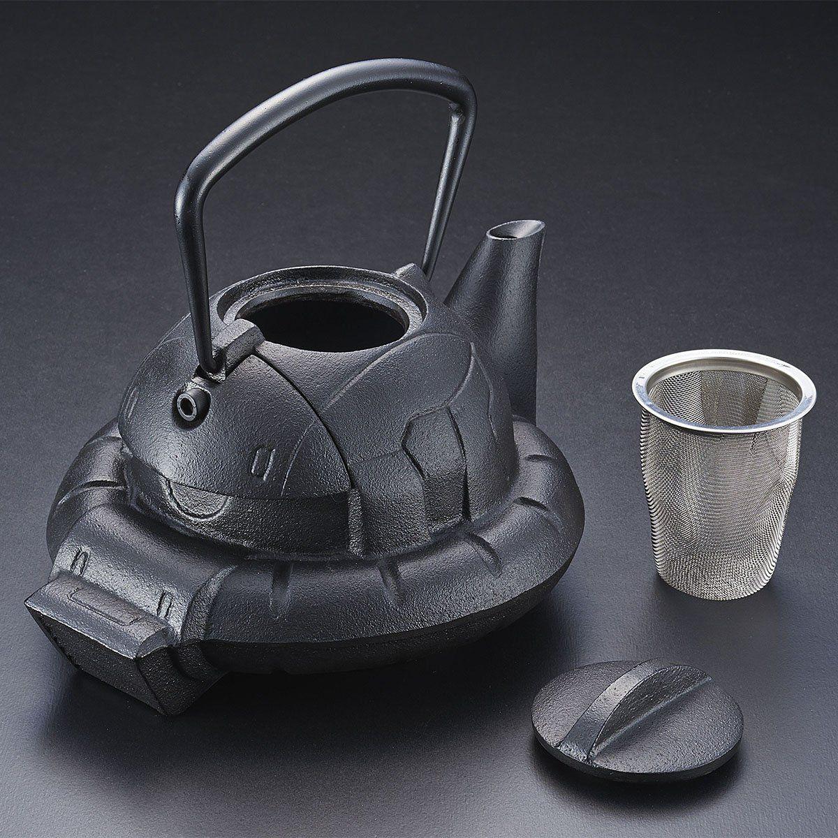 ガンダムカフェ『南部鉄器 鉄瓶 ZAKU』-004