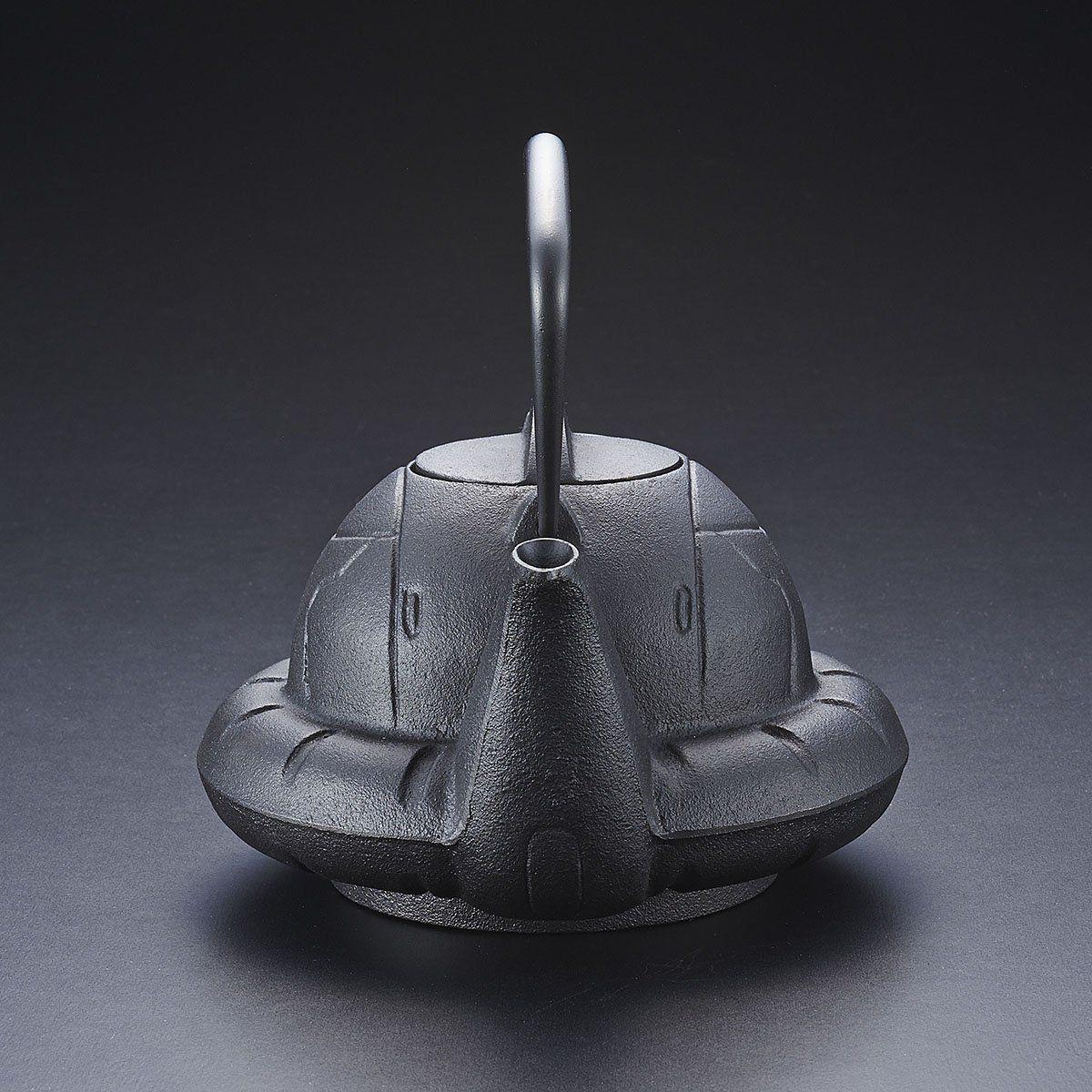ガンダムカフェ『南部鉄器 鉄瓶 ZAKU』-006