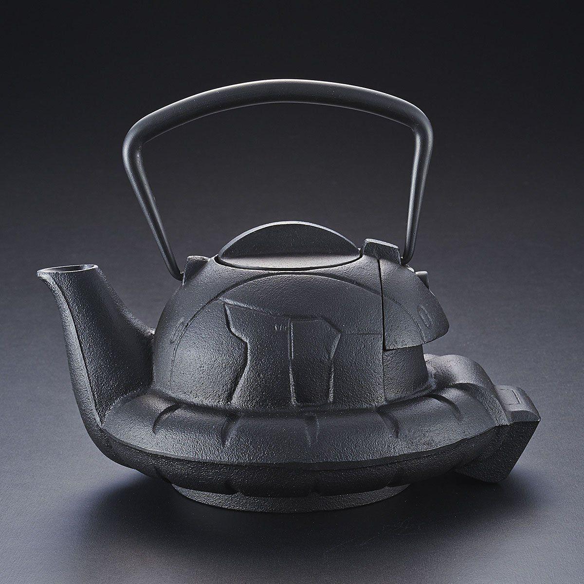 ガンダムカフェ『南部鉄器 鉄瓶 ZAKU』-007