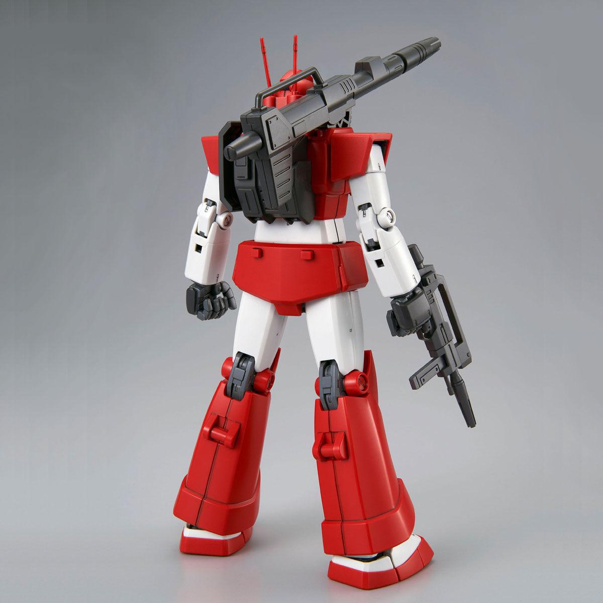 MG 1/100『ジム・キャノン[レッド・ヘッド](ジャブロー防衛隊仕様)』Zガンダム プラモデル-003