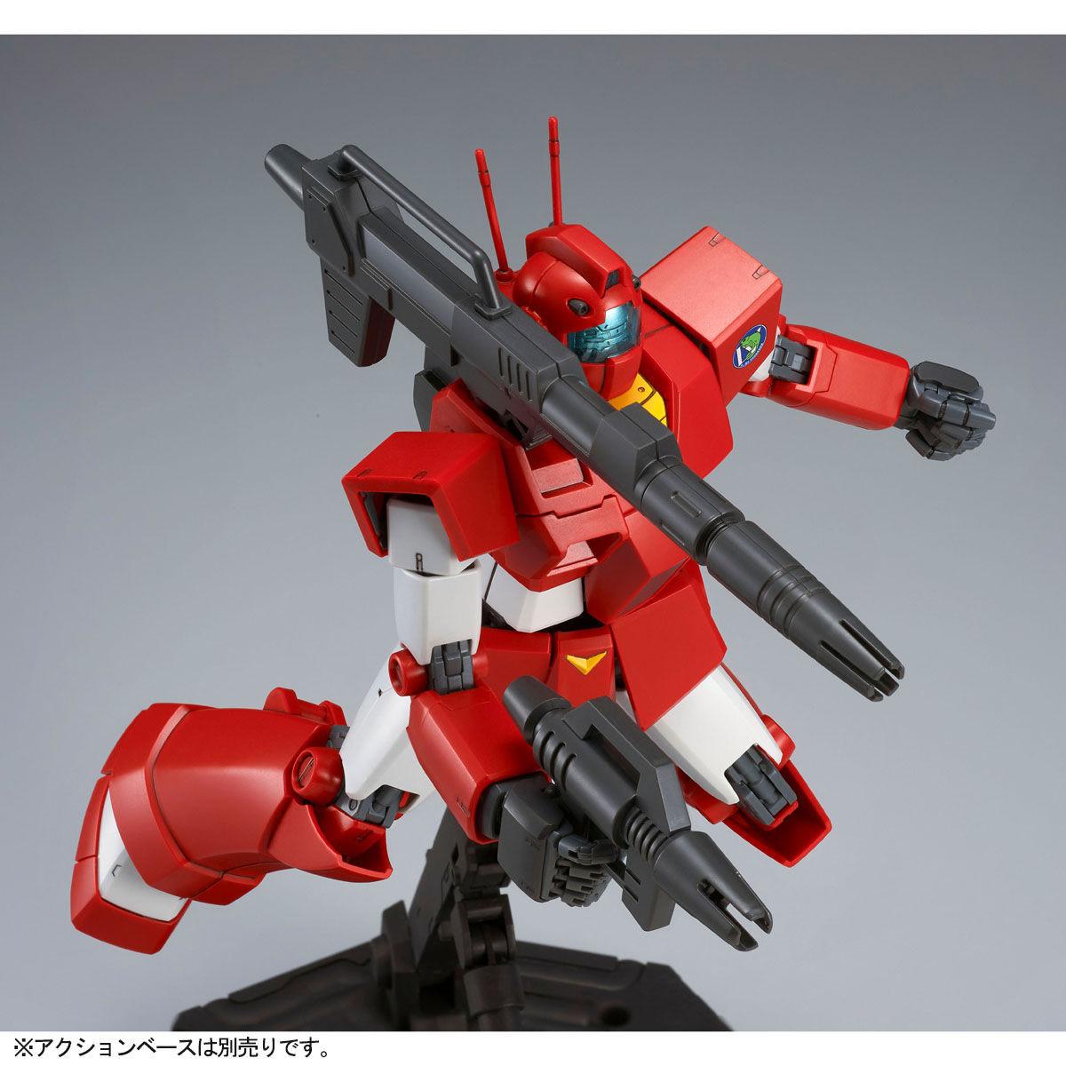 MG 1/100『ジム・キャノン[レッド・ヘッド](ジャブロー防衛隊仕様)』Zガンダム プラモデル-010