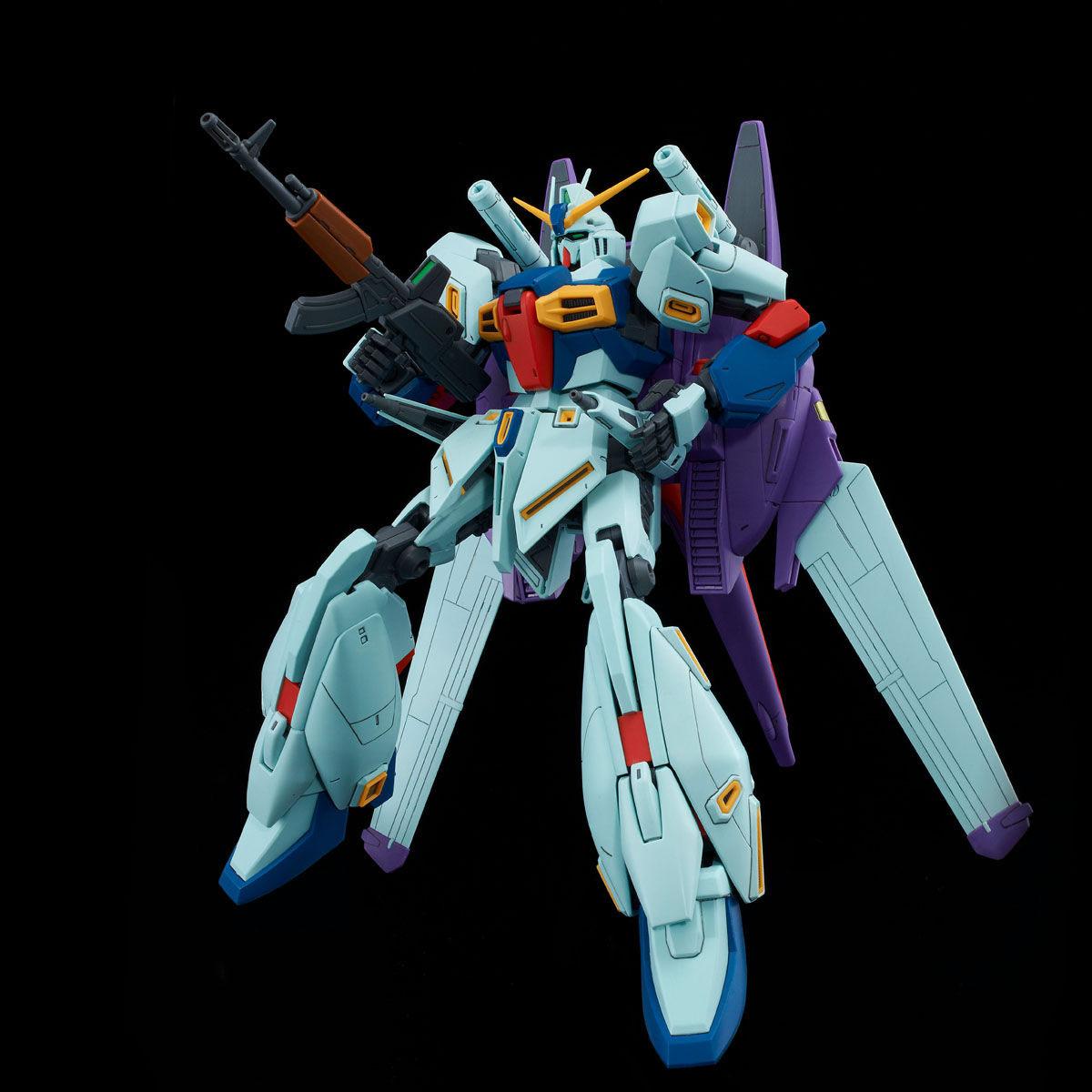 MG 1/100『リ・ガズィ・カスタム』ガンダムMSV プラモデル-006