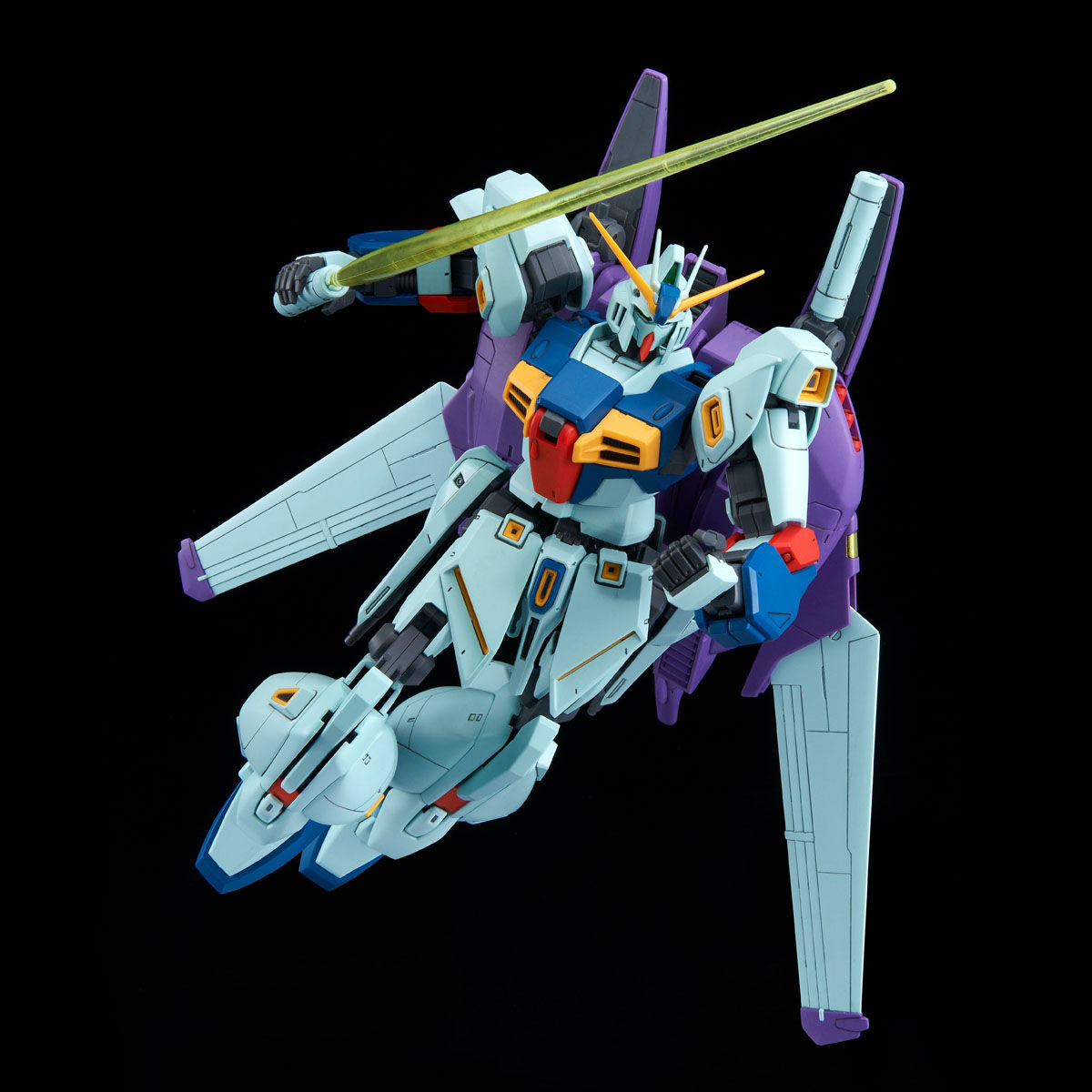 MG 1/100『リ・ガズィ・カスタム』ガンダムMSV プラモデル-007