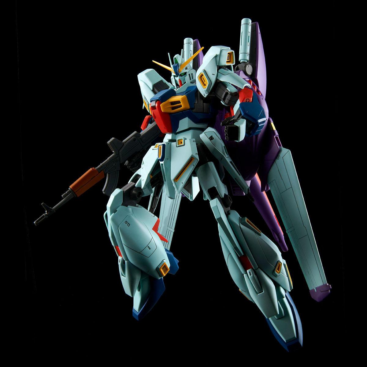 MG 1/100『リ・ガズィ・カスタム』ガンダムMSV プラモデル-008