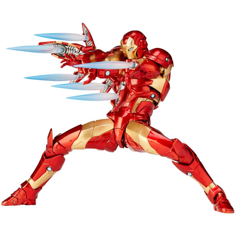 フィギュアコンプレックス アメイジング・ヤマグチ No.013『アイアンマン ブリーディングエッジアーマー』可動フィギュア-001