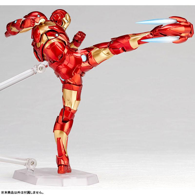 フィギュアコンプレックス アメイジング・ヤマグチ No.013『アイアンマン ブリーディングエッジアーマー』可動フィギュア-003
