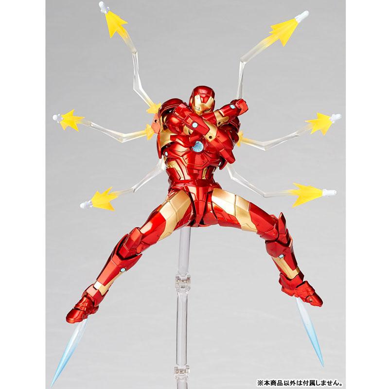 フィギュアコンプレックス アメイジング・ヤマグチ No.013『アイアンマン ブリーディングエッジアーマー』可動フィギュア-005