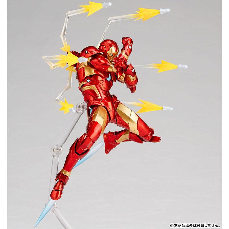 フィギュアコンプレックス アメイジング・ヤマグチ No.013『アイアンマン ブリーディングエッジアーマー』可動フィギュア-006