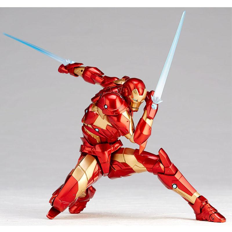 フィギュアコンプレックス アメイジング・ヤマグチ No.013『アイアンマン ブリーディングエッジアーマー』可動フィギュア-007