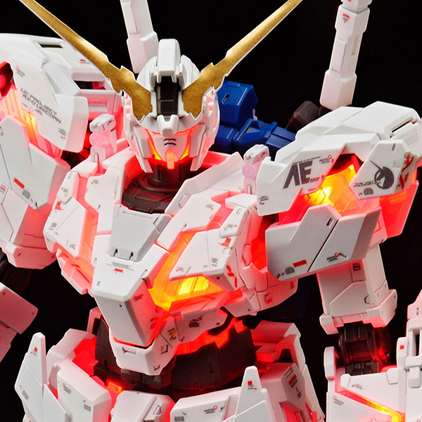 RG 1/144『ガンダムベース限定 RX-0 ユニコーンガンダム(デストロイモード)Ver.TWC(LIGHTING MODEL)』プラモデル