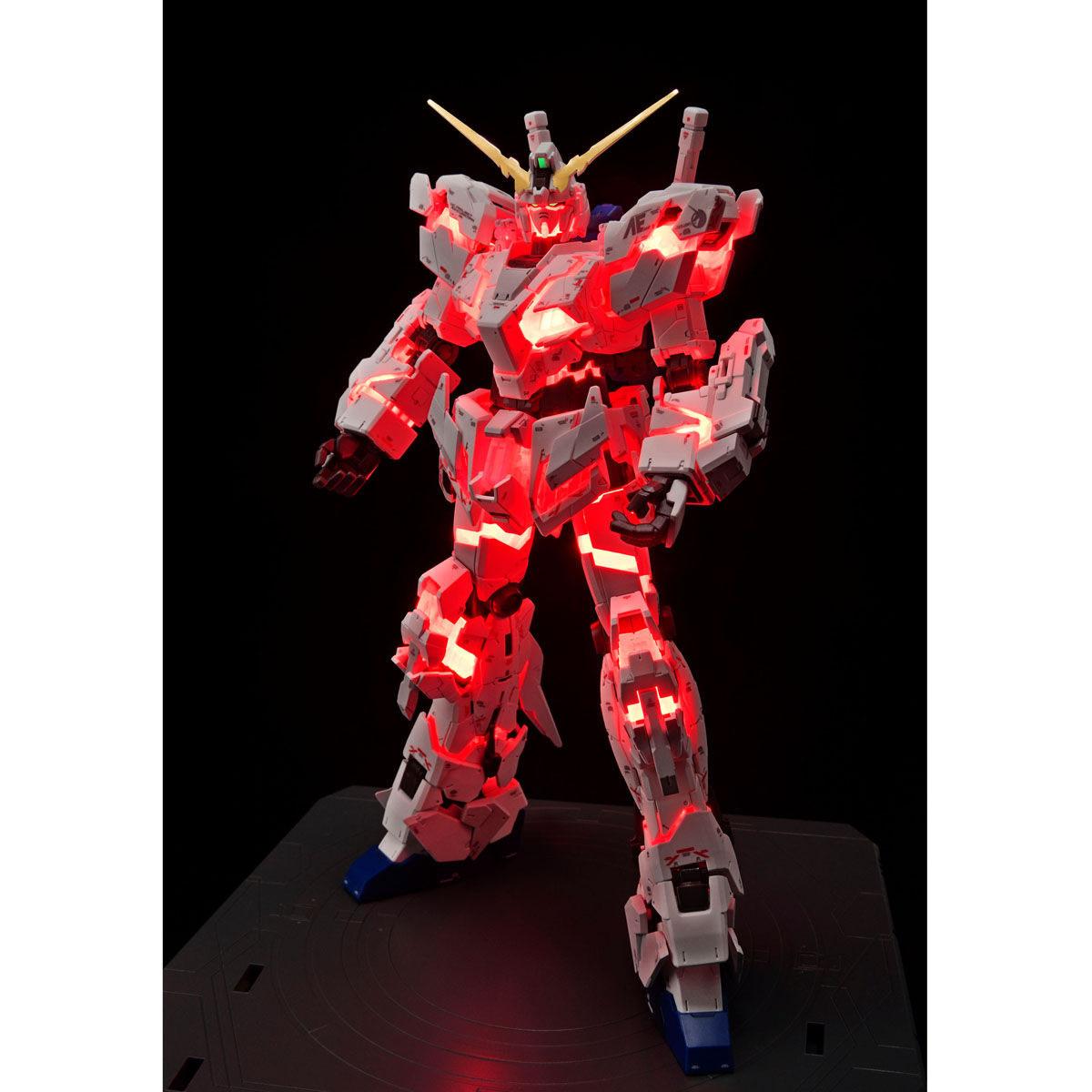 RG 1/144『ガンダムベース限定 RX-0 ユニコーンガンダム(デストロイモード)Ver.TWC(LIGHTING MODEL)』プラモデル-002