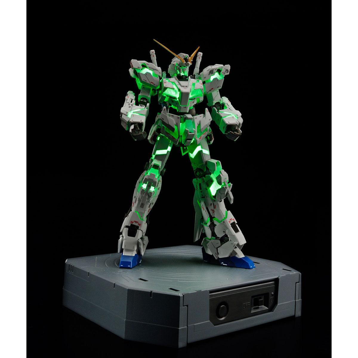 RG 1/144『ガンダムベース限定 RX-0 ユニコーンガンダム(デストロイモード)Ver.TWC(LIGHTING MODEL)』プラモデル-003