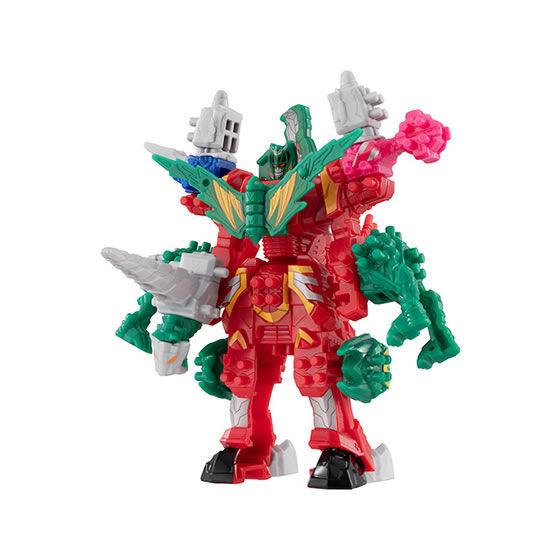 騎士竜戦隊リュウソウジャー『ガシャポン可動変形タイガランス&ミルニードル』ガシャポン-005