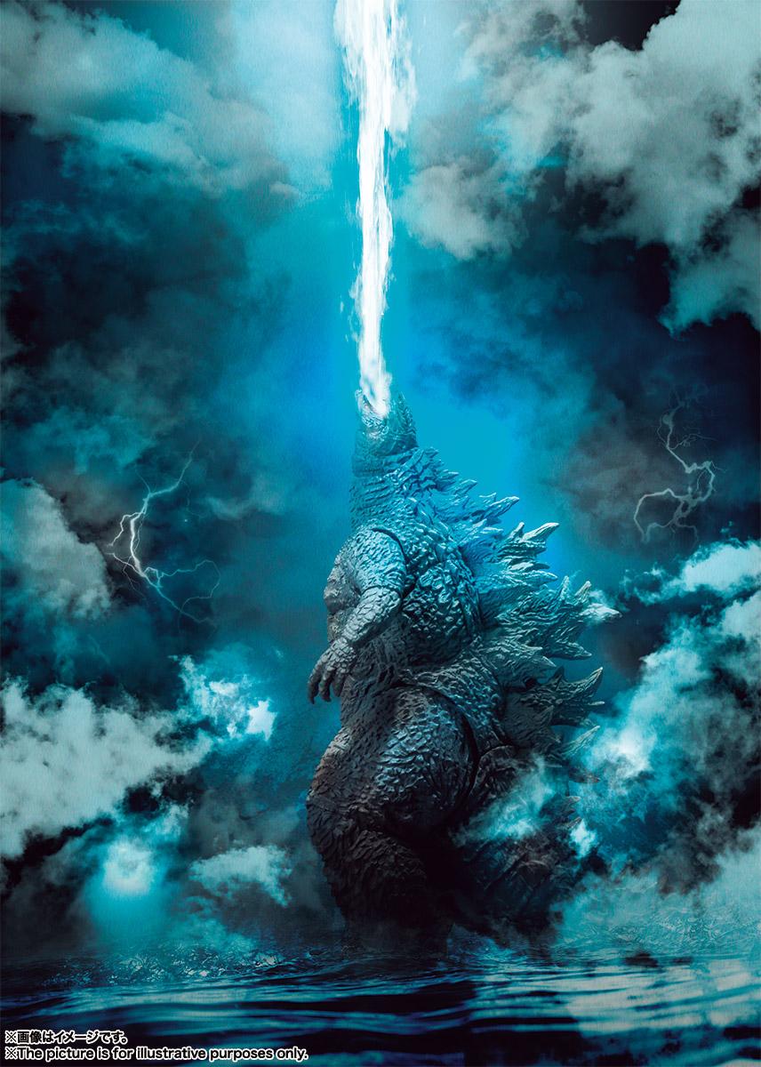 S.H.モンスターアーツ『ゴジラ(2019)』ゴジラ キング・オブ・モンスターズ 可動フィギュア-007