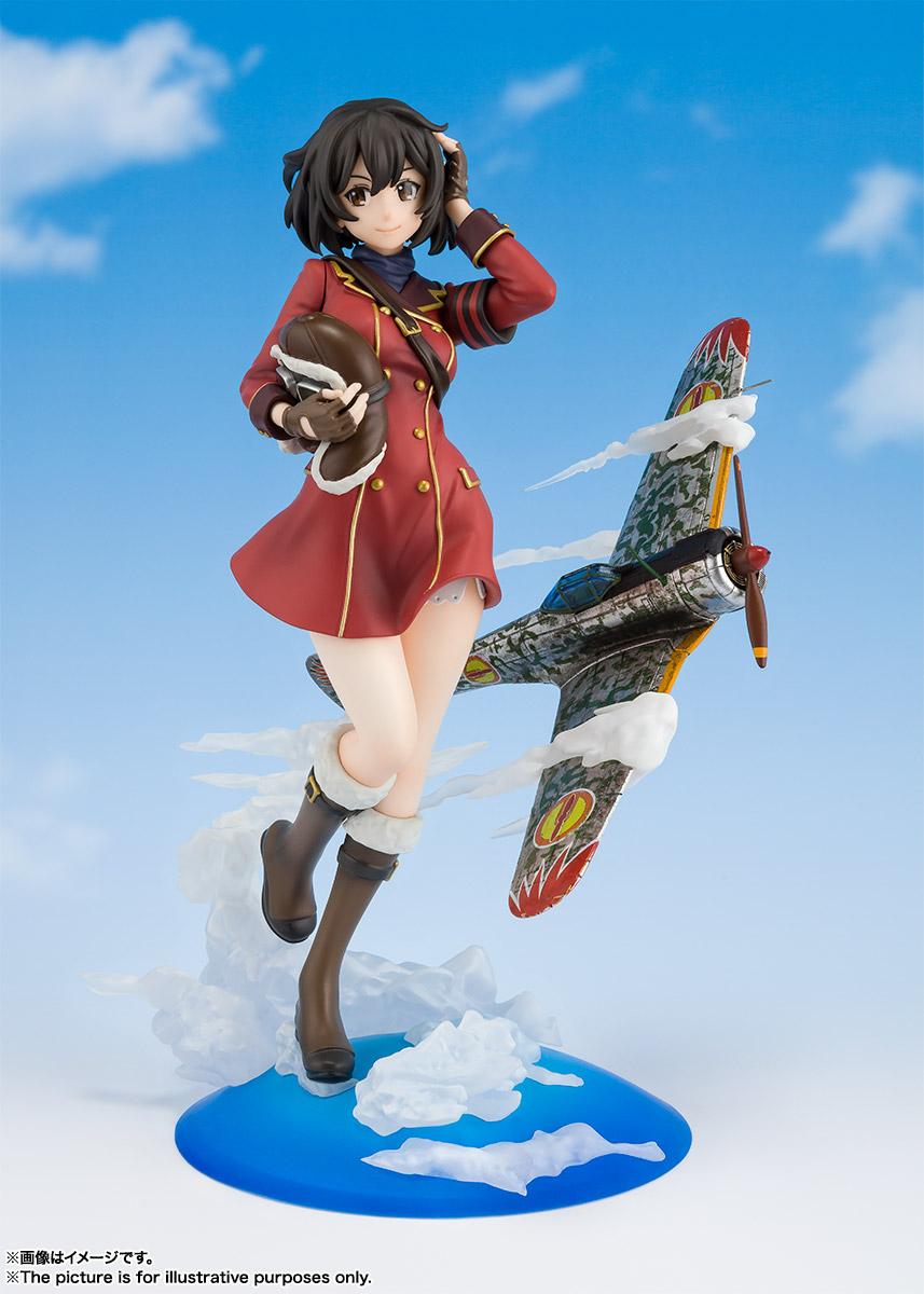 フィギュアーツZERO『キリエ』荒野のコトブキ飛行隊 完成品フィギュア-002