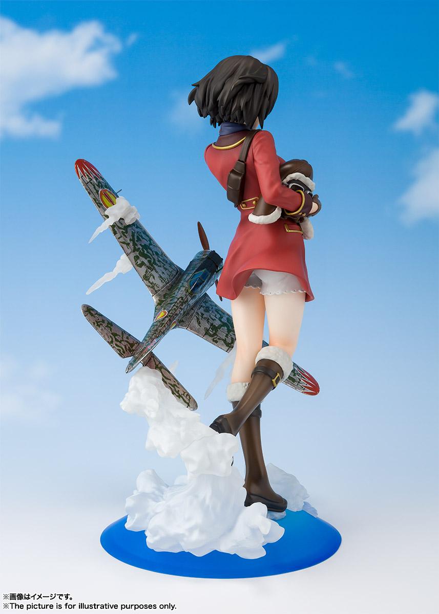フィギュアーツZERO『キリエ』荒野のコトブキ飛行隊 完成品フィギュア-003