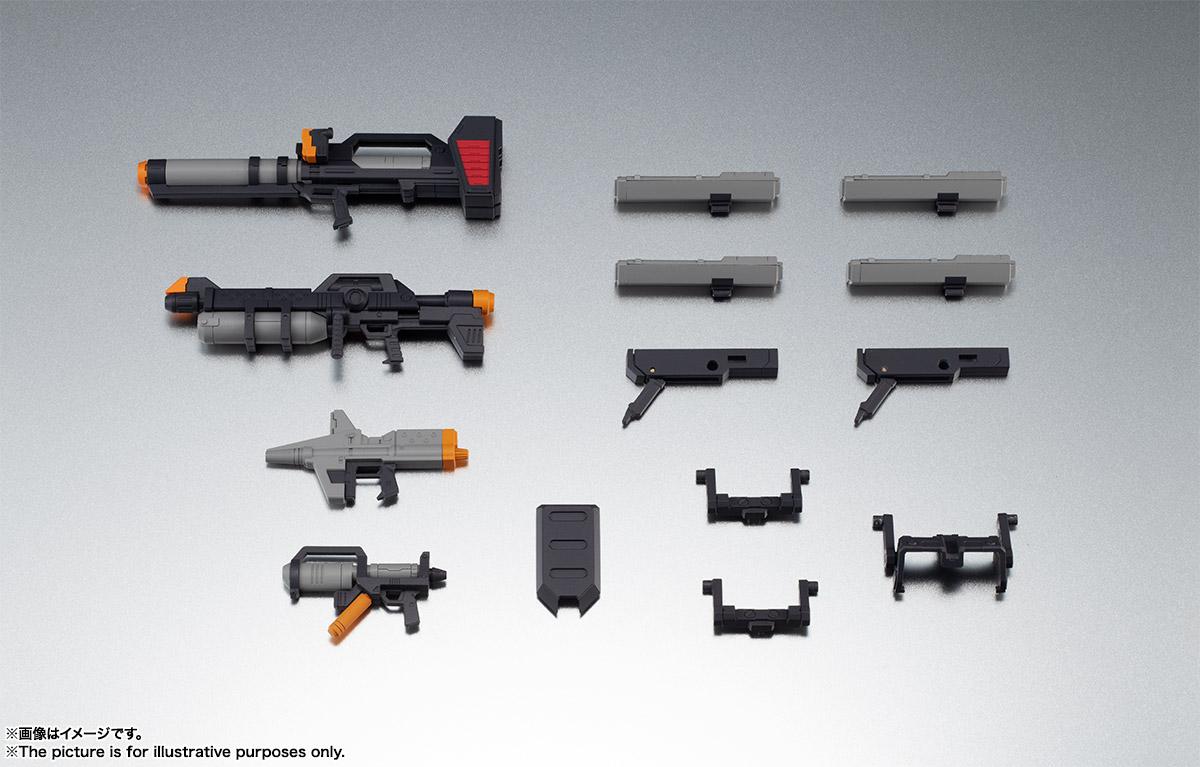 ROBOT魂〈SIDE MS〉『連邦軍武器セット ver. A.N.I.M.E.』ガンダム 完成品フィギュア-001