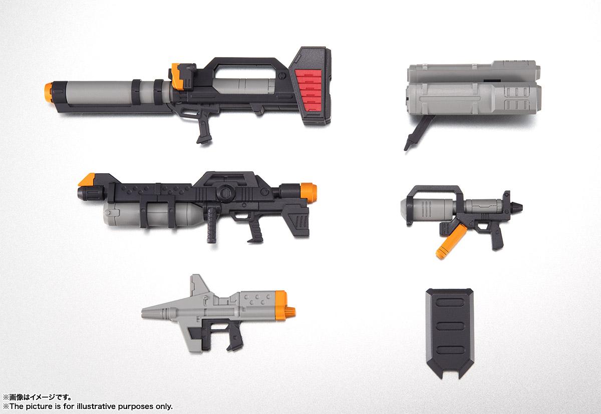 ROBOT魂〈SIDE MS〉『連邦軍武器セット ver. A.N.I.M.E.』ガンダム 完成品フィギュア-002