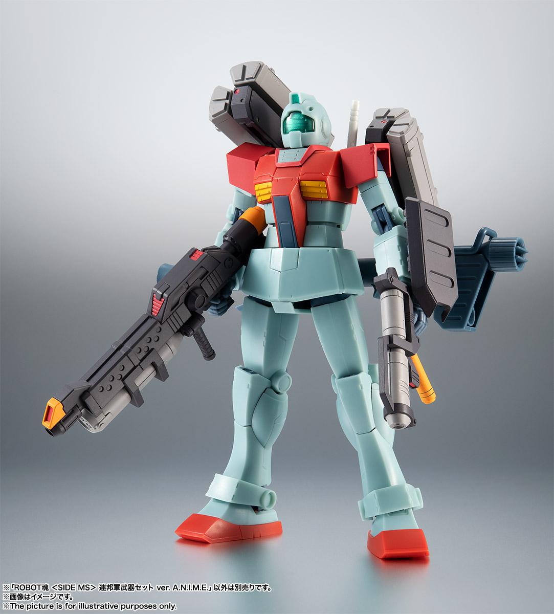 ROBOT魂〈SIDE MS〉『連邦軍武器セット ver. A.N.I.M.E.』ガンダム 完成品フィギュア-003