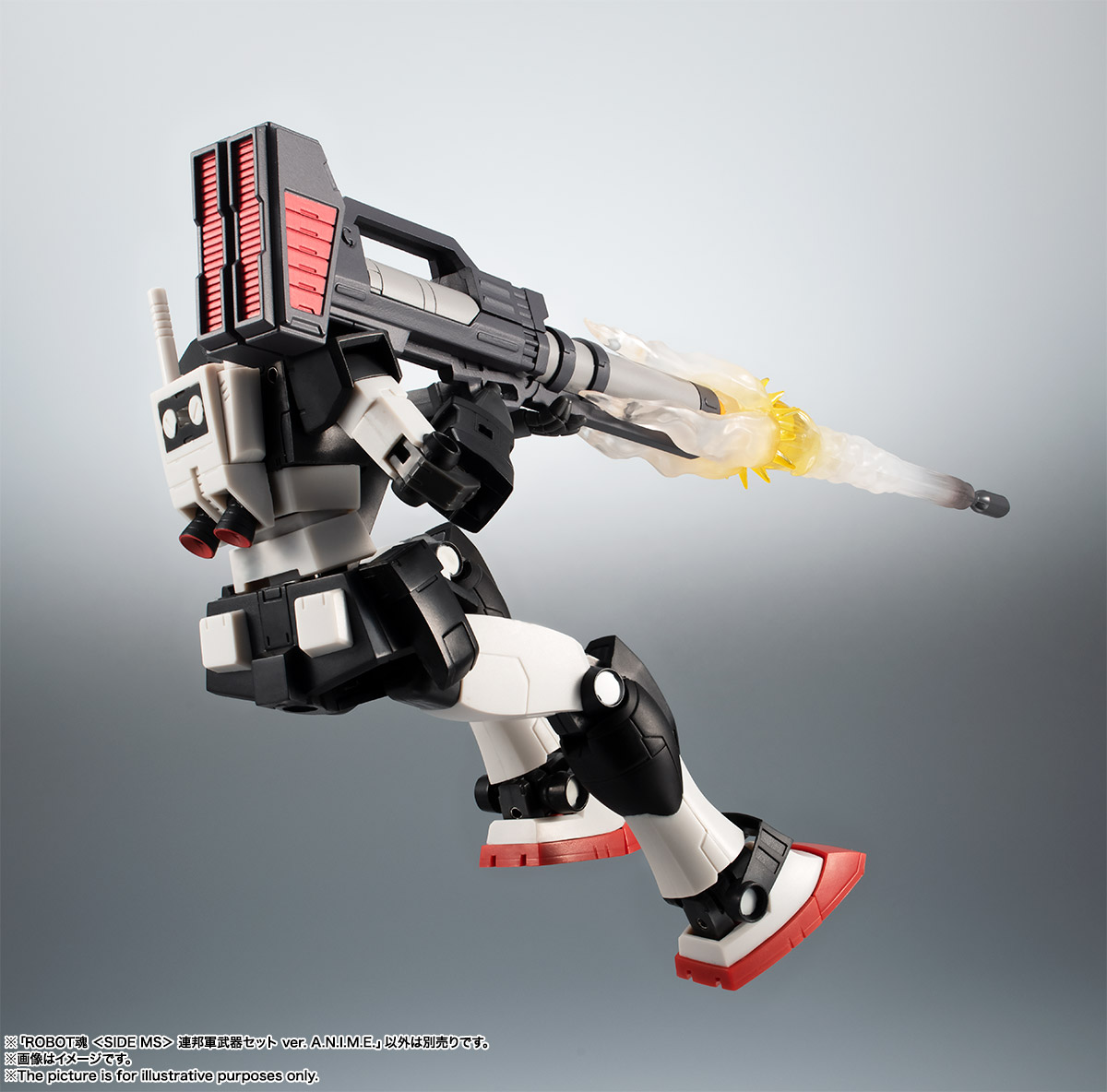 ROBOT魂〈SIDE MS〉『連邦軍武器セット ver. A.N.I.M.E.』ガンダム 完成品フィギュア-009