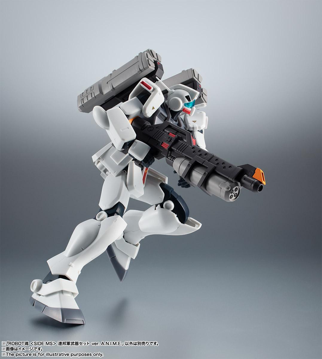 ROBOT魂〈SIDE MS〉『連邦軍武器セット ver. A.N.I.M.E.』ガンダム 完成品フィギュア-014