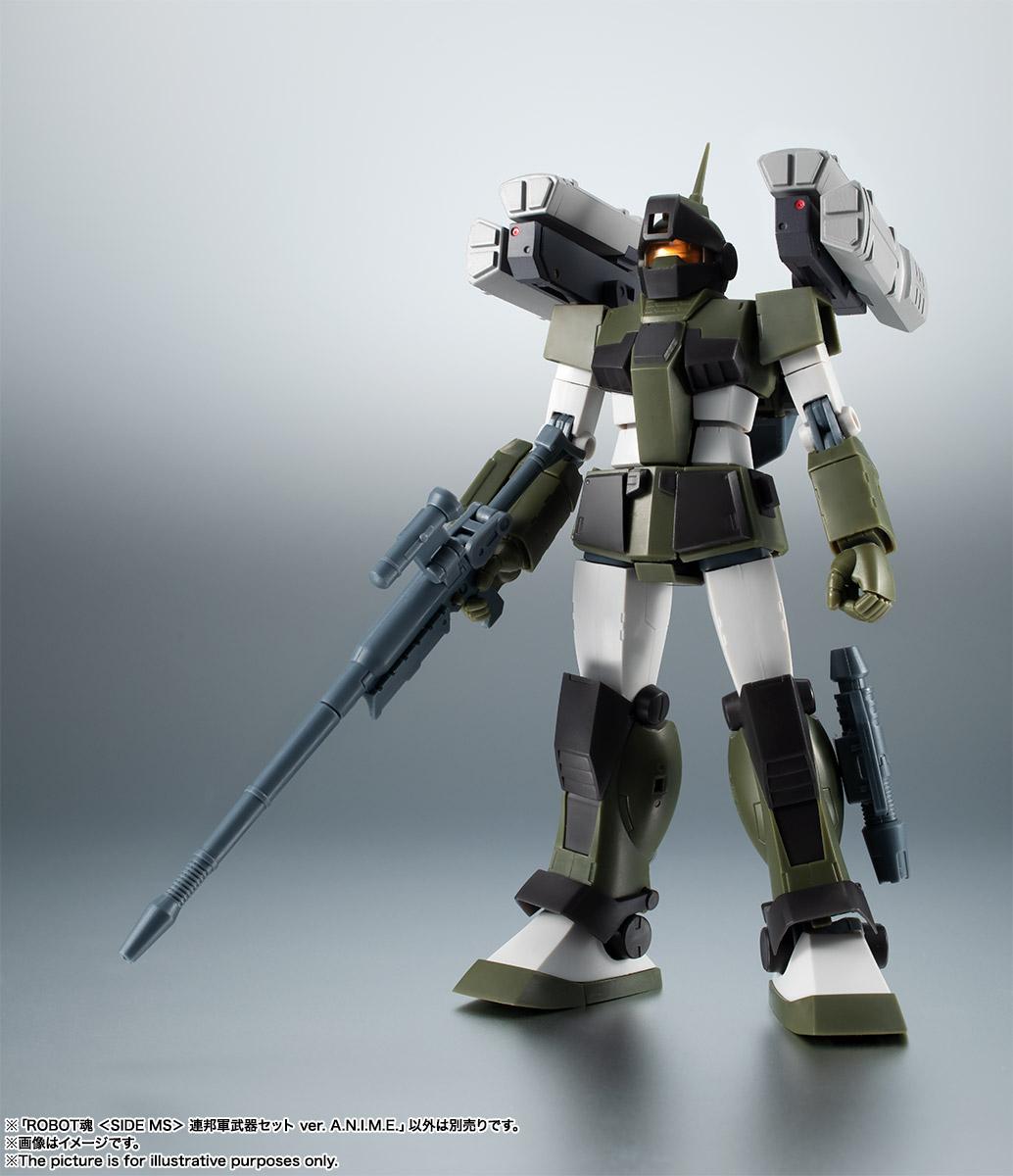 ROBOT魂〈SIDE MS〉『連邦軍武器セット ver. A.N.I.M.E.』ガンダム 完成品フィギュア-015