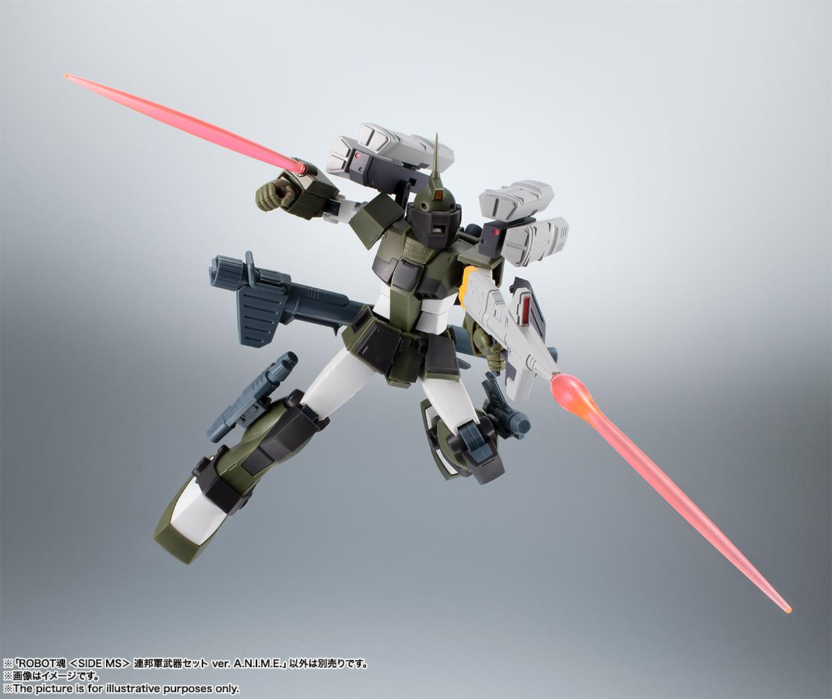 ROBOT魂〈SIDE MS〉『連邦軍武器セット ver. A.N.I.M.E.』ガンダム 完成品フィギュア-016